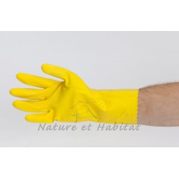 560019 GANT LATEX NATUREL JAUNE taille 10