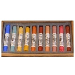 COFFRET 10 PASTELS TENDRES PORTRAIT