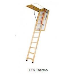ESCALIER ESCAMOTABLE pliable avec une échelle en bois REF LTK THERMO en 60 x 120 cm