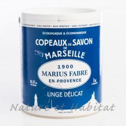 COPEAUX DE SAVON DE MARSEILLE DANS UN BARIL 1KG