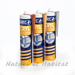 NEC + CRYL JOINTS FISSURES BLANC AC704 310 ML