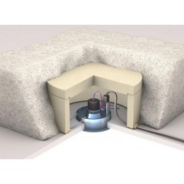 PROTEC SPOT capot de protection de spot en Vermiculite