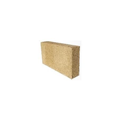 Chanvribloc épaisseur 15cm, vendu par palette de 60 blocs,(30x60cm), surface de 10,9m² R=2,1m²K/W HORS FRAIS DE PORT