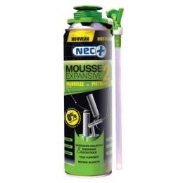 NEC + MOUSSE EXPANSIVE STP 2 en 1 MANUELLE OU PISTOLABLE 500 ML