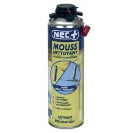NEC + MOUSSE NETTOYANT 500 ML pour pistolet
