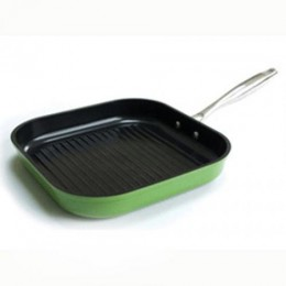 EVERGREEN STEEL GRILL CARRE 28 CM